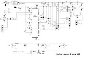 FTDI2232 adum 2 max