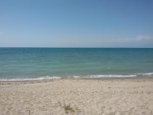 Issyl kul plaża