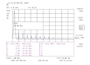LPF 1,8 Mhz - 2