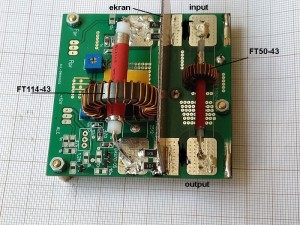 FT50-43, FT114-43 ekran
